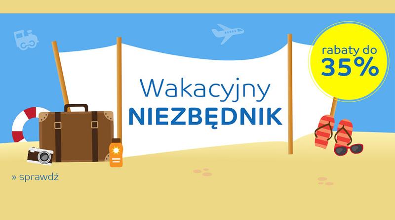 Wakacyjny niezbędnik z rabatami do -35% na eMag.pl