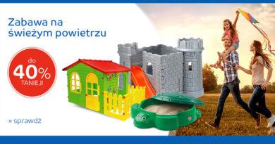 Zabawki dla dziecka do 40% taniej na eMag.pl