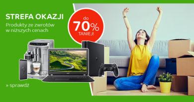 Strefa okazji do -70% taniej na eMag.pl