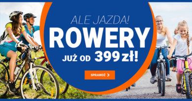 Kup rower już od 399 zł w sklepie Avans.pl