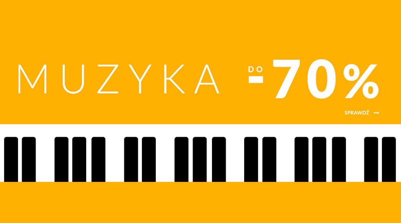 Muzyczne bestsellery do 70% taniej na Empik.com
