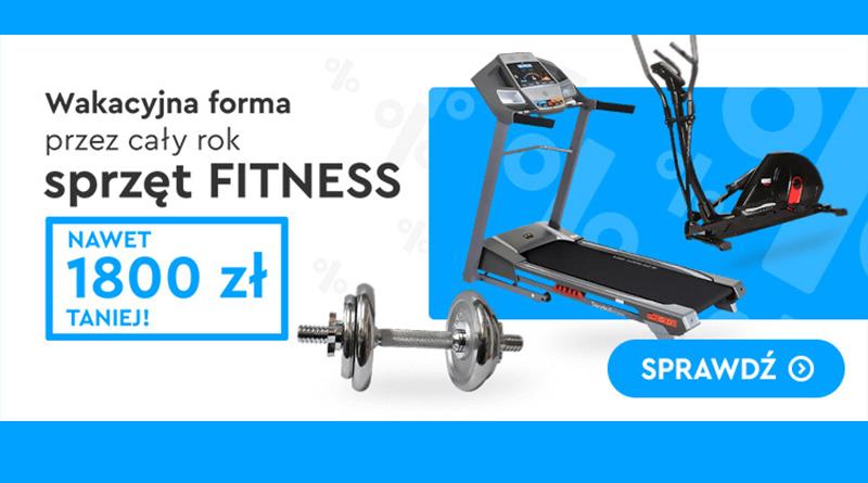 Sprzęt fitness nawet 1800 zł taniej w OleOle