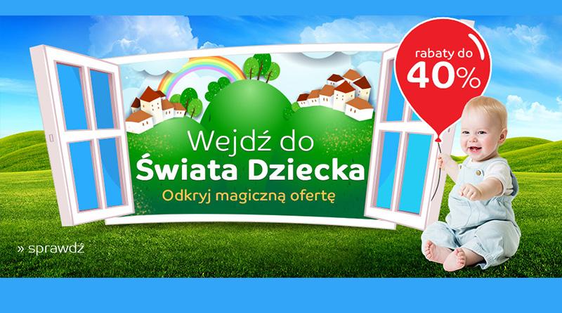 Wszystko dla dziecka z rabatami do -40% taniej na eMag.pl