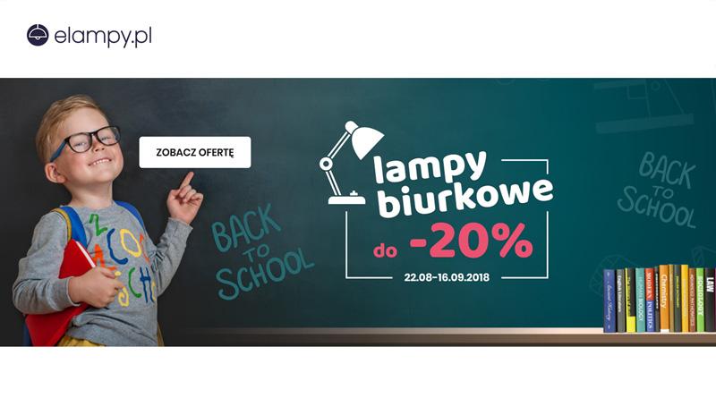Lampy biurkowe do 20% taniej na elampy.pl
