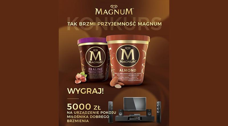 Konkurs Magnum: Tak brzmi przyjemność Magnum