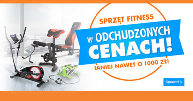 Sprzęt fitness taniej nawet o 1000 zł w sklepie Electro
