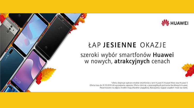 Smartfony Huawei w atrakcyjnych cenach w Media Markt