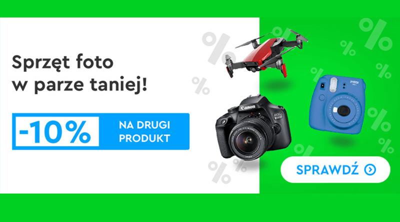 Sprzęt foto w parze taniej w sklepie OleOle!