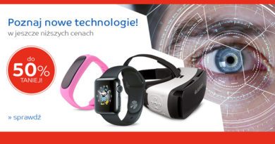 Poznaj nowe technologie do 50% taniej na eMag.pl
