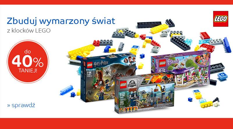 Klocki Lego łowcy Rabatów Promocje Rabaty Konkursy Rankingi