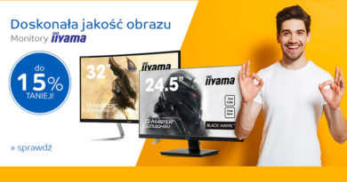 Monitory LCD i LED do 15% taniej na eMag.pl