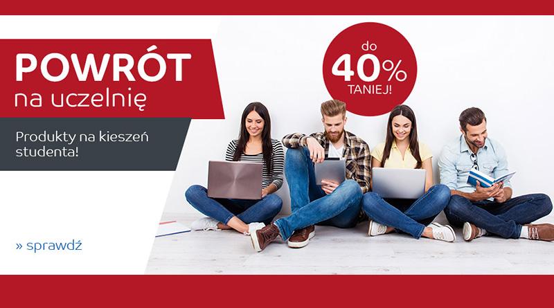 Produkty dla studentów do 40% taniej na eMag.pl
