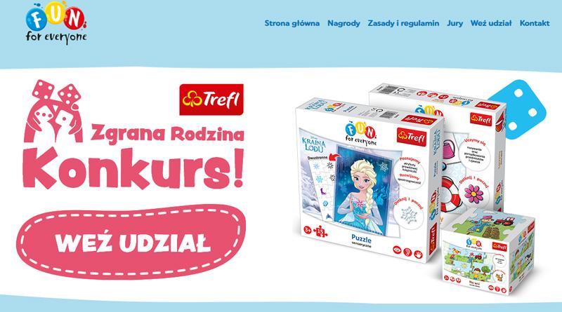 Konkurs Biedronka: Trefl - Zgrana Rodzina