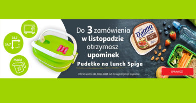 Odbierz upominek za 3 zamówienia w AuchanDirect