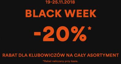 Black Week z rabatami do 20% taniej w CCC