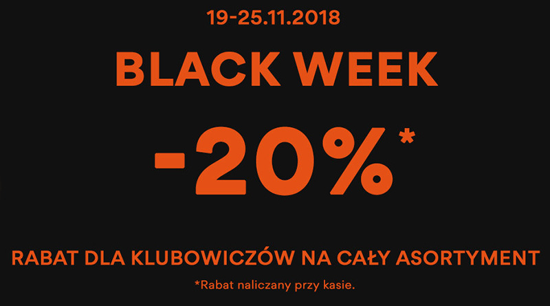 Black Week z rabatami do 20% taniej w CCC