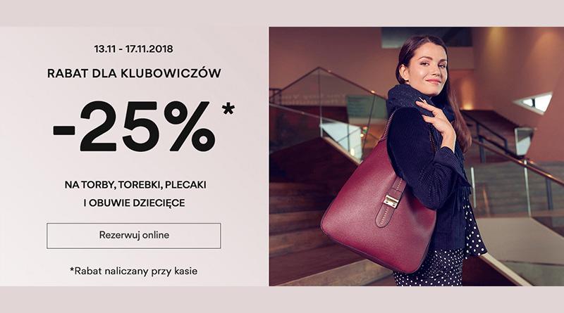 Rabat 25% dla Klubowiczów w sklepie CCC