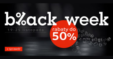 Black Week z rabatami do 50% taniej na eMag.pl